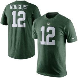 NFL パッカーズ アーロン・ロジャース Player Pride Name & Number Tシャツ Nike【180921変更】