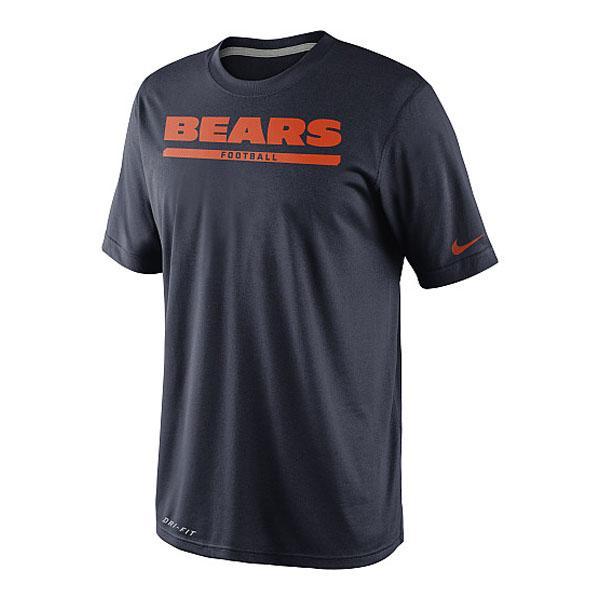 NFL ベアーズ Tシャツ ネイビー ナイキ DRI-FIT Elite Font Tシャツ 2013【1804NFL】