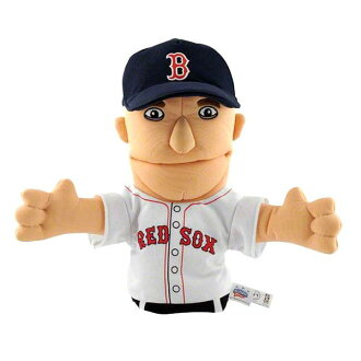 Hand Puppet including the MLB Red Sox Dustin ペドロイア sewing