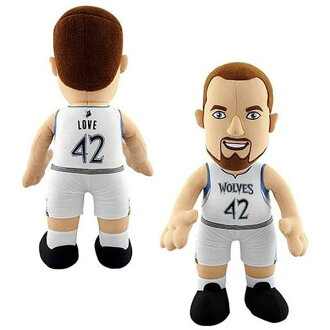 14-Inch Plush Doll including the NBA Timberwolves Kevin love sewing
