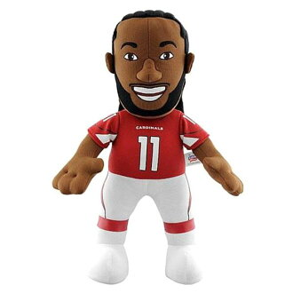 14-Inch Plush Doll including the NFL Cardinals rally Fitzgerald sewing