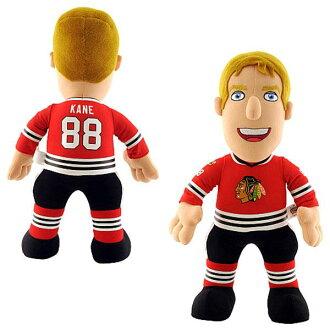 NHL Blackhawks # 88 Patrick Kane Inch Plush doll Bleacher Creatures