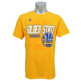 NBA Tシャツ ウォリアーズ Distressed Back Logo アディダス/Adidas【1808NBA Tシャツ】【181001セール解除】