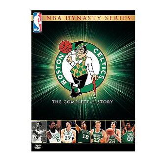 NBA 塞爾特人隊進口版 DVD NBA 王朝系列: 波士頓塞爾特人隊-完整的歷史記錄