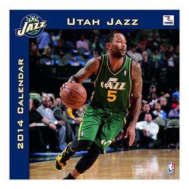 NBA ジャズ カレンダー JFターナー/JF Turner 2014 12×12 TEAM WALL カレンダー【1910価格変更】