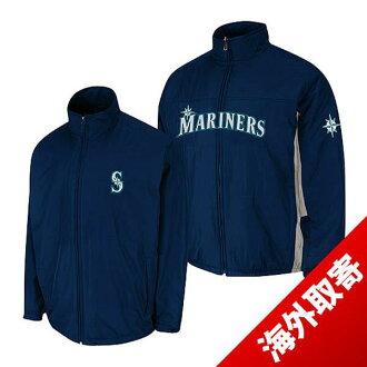 MLB Mariners jacket Navy Majestic