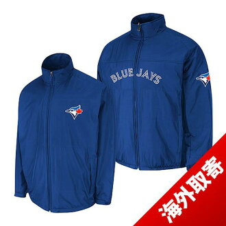 Majestic MLB Toronto Blue Jays Authentic Triple Climate-in-1 On-Field jacket (blue)