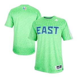 NBA イースト Tシャツ グリーン アディダス 2014 All-Star Game Time Shooter Tシャツ【1808NBA】