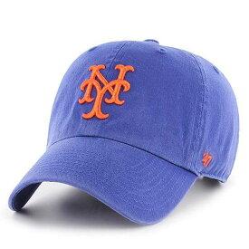 MLB メッツ キャップ/帽子 ロイヤル 47ブランド Cleanup Adjustable キャップ【0702価格変更)】