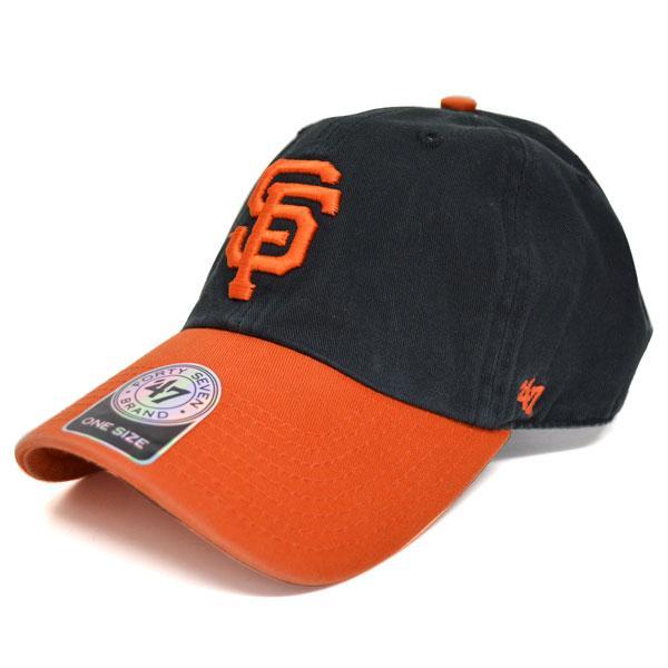 MLB ジャイアンツ キャップ/帽子 オルタネート 47ブランド Cleanup Adjustable キャップ【0702価格変更)】