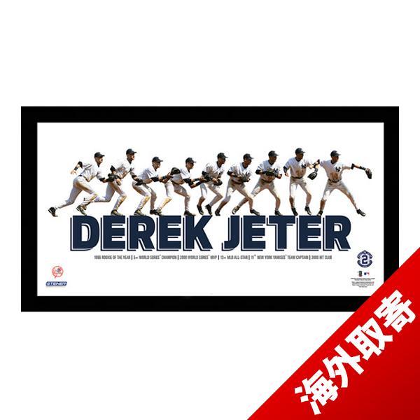 お取り寄せ MLB ヤンキース デレク・ジーター Sports Derek Jeter Multi-Exposure Nine Photo Throw Panoramic