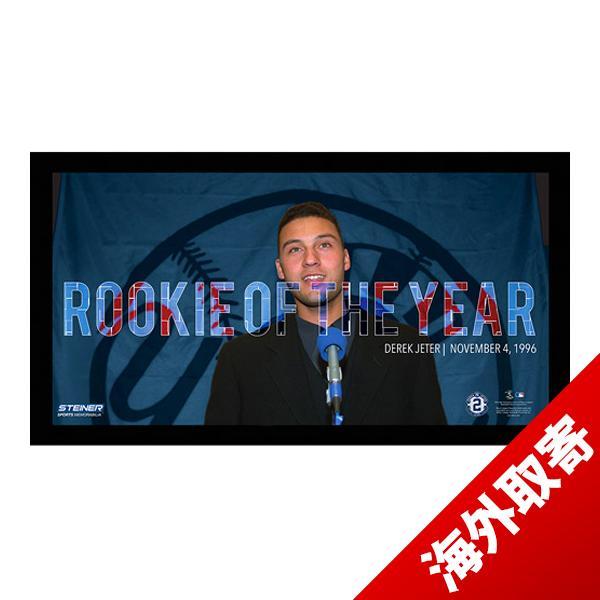 お取り寄せ MLB ヤンキース デレク・ジーター Sports Derek Jeter Moments: Rookie Of the Year Mosaic Panoramic