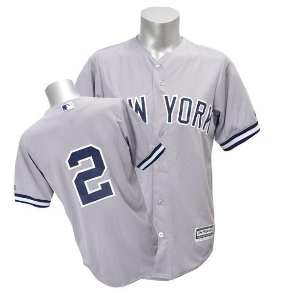MLB ヤンキース デレク・ジーター ユニフォーム ロード Majestic