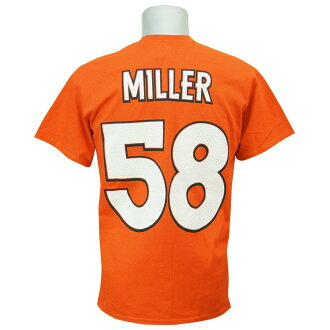 NFL 野马波恩-米勒资格接收机 II T 恤雄伟/雄伟