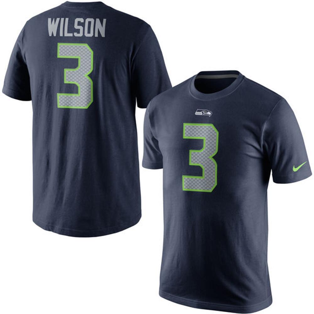 NFL シーホークス ラッセル・ウィルソン プレイヤー プライド ネーム&ナンバー Tシャツ ナイキ/Nike1710