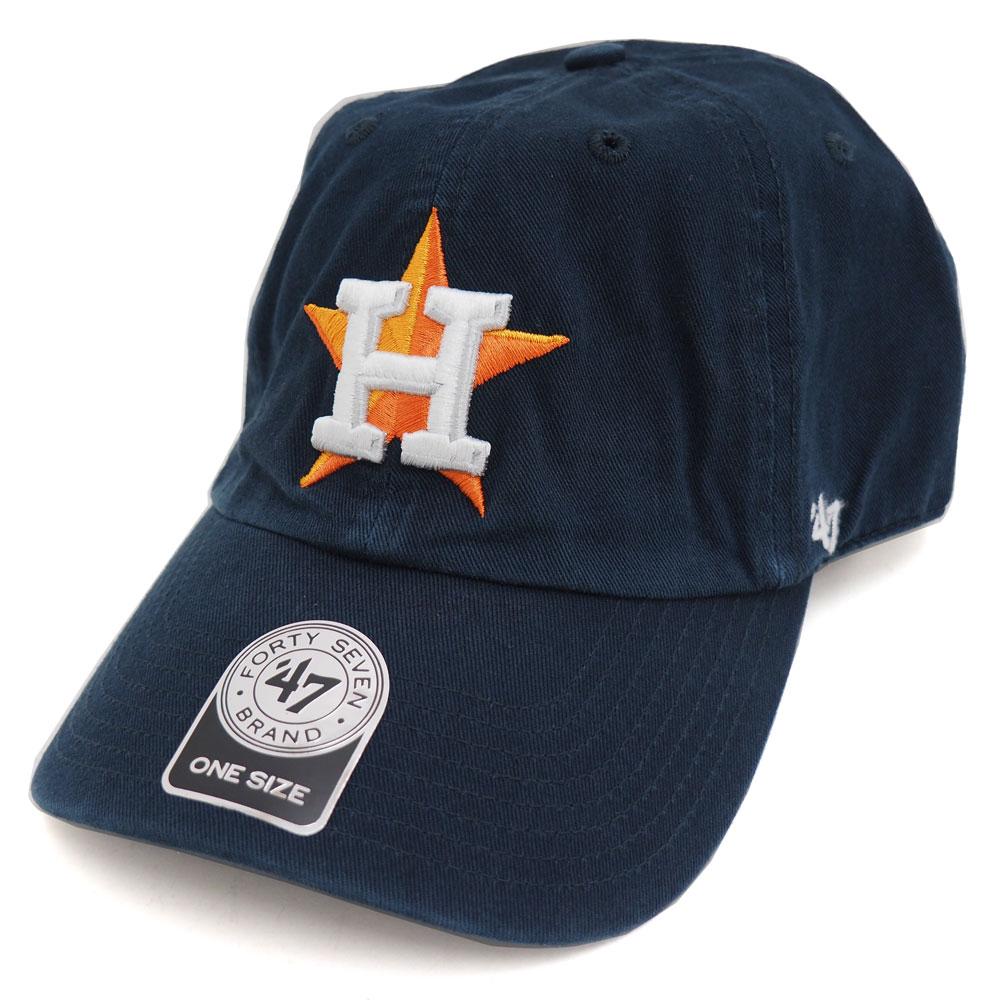 MLB アストロズ クリーンナップ アジャスタブル キャップ/帽子 47ブランド/47 Brand【0702価格変更)】