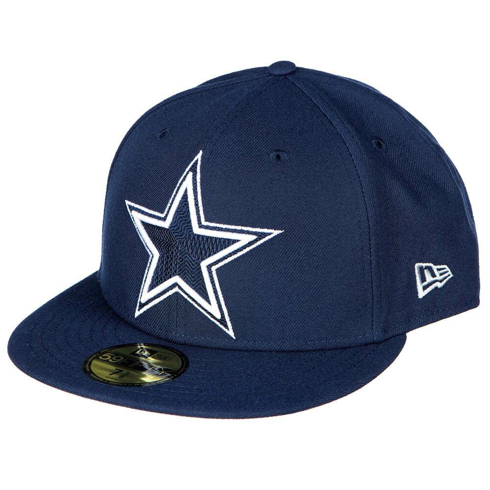 NFL カウボーイズ チームカラー 59FIFTY キャップ/帽子 ニューエラ/New Era