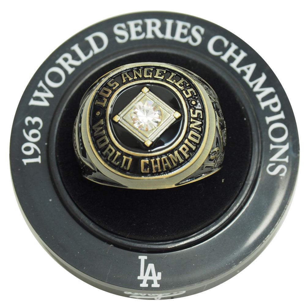 MLB ドジャース 1963 ワールドシリーズ レプリカ チャンピオン リング レアアイテム レアアイテム レアアイテム