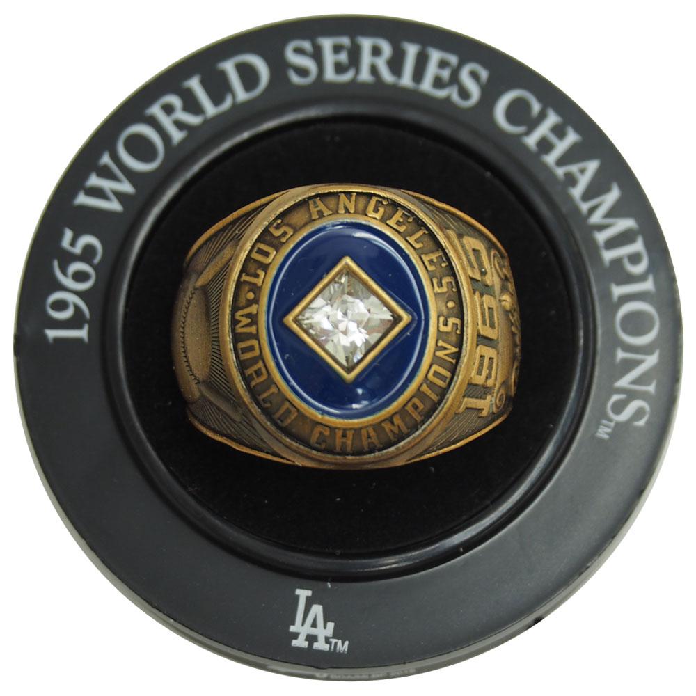 MLB ドジャース 1965 ワールドシリーズ サンデー・コーファックス レプリカ チャンピオン リング レアアイテム レアアイテム レアアイテム