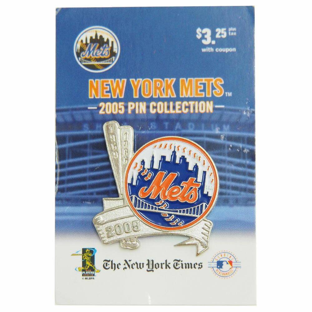 MLB メッツ 2タイム ワールドシリーズ チャンピオン 69/86 記念 ピンバッジ Peter David(ピーター デイビット) レアモデル レアアイテム レアアイテム レアアイテム
