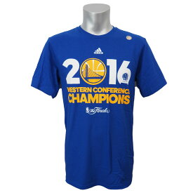 NBA Tシャツ ウォリアーズ カンファレンス チャンピオン アディダス/Adidas【1808NBA Tシャツ】【181001セール解除】
