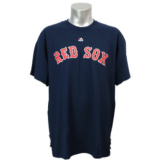 MLB Boston Red Sox Wordmark T-shirt (navy) Majestic