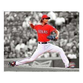 MLB遊騎兵達比修有2012聚光燈行動照片照片文件/Photo File