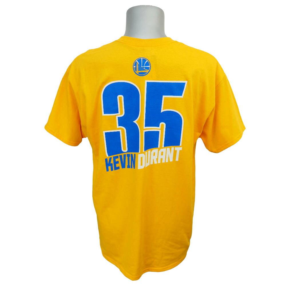 NBA ウォリアーズ ケビン・デュラント レコード ホルダー Tシャツ マジェスティック/Majestic イエロー
