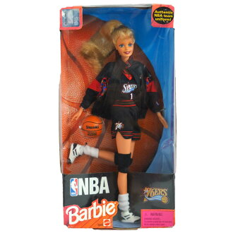 NBA 76ers Barbie doll 1998 model Barbie collectibles /byrbie Collectibles