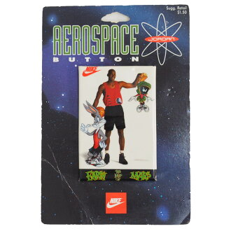 Nike Jordan /NIE JORDAN aerospace button badge Earth the Best on Mars