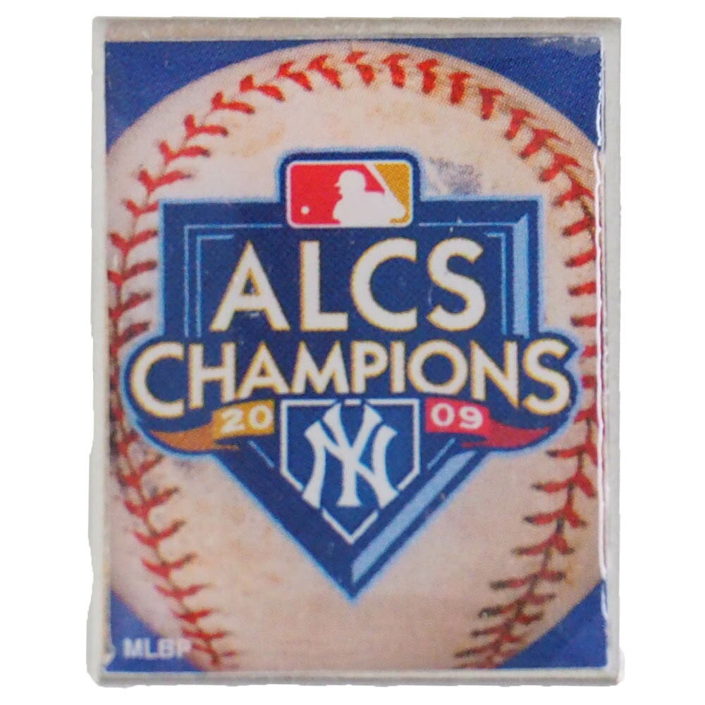 MLB ヤンキース 2009 ア・リーグ チャンピオン 記念 ピンバッジ ウィンクラフト/WinCraft レアアイテム