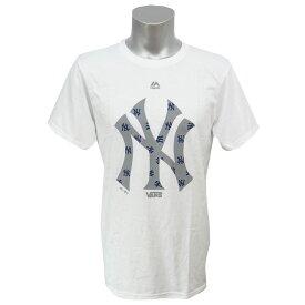 MLB ヤンキース Vans ロゴ フックアップ Tシャツ ヴァンズ/Vans ホワイト【OCSL】