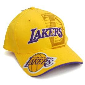レイカーズ シャキール・オニール アジャスタブル キャップ/帽子 NBA イエロー レアアイテム