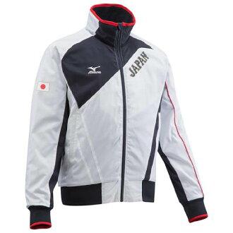 WBC Samurai Japan replica ground coat Mizuno /Mizuno White x Navy