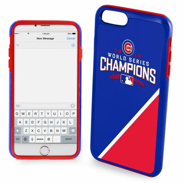 お取り寄せ MLB カブス 2016 ワールドシリーズ チャンピオン iPhone7 Plus ハイブリッド ケース