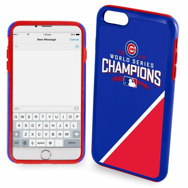 お取り寄せ MLB カブス 2016 ワールドシリーズ チャンピオン iPhone7 ハイブリッド ケース