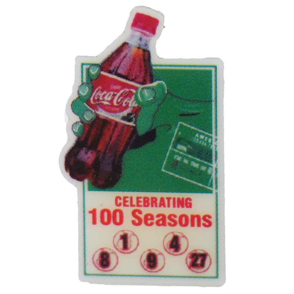 MLB レッドソックス ア・リーグ加盟 100周年記念 コカ・コーラ ピンバッジ Celebrating 100 Seasons