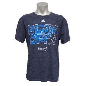 NBA Tシャツ サンダー 2015 プレーオフ Tri-Blend アディダス/Adidas ネイビー【1808NBA Tシャツ】【181001セール解除】