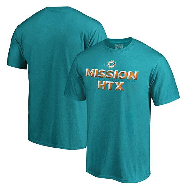 NFL ドルフィンズ 2016 NFL プレーオフ バウンド ミッション HTX Tシャツ プロライン/Pro Line アクア
