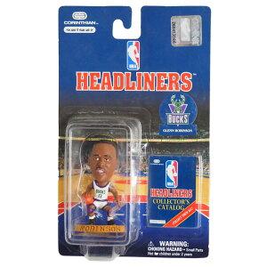 NBAバックスグレン・ロビンソンフィギュアヘッドライナーズ1996エディションコリンシアン/Corinthian