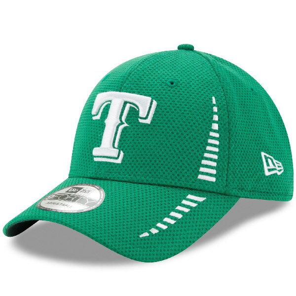 お取り寄せ MLB レンジャーズ 2017 セントパトリックスデー 9FORTY アジャスタブル キャップ/帽子 ニューエラ/New Era