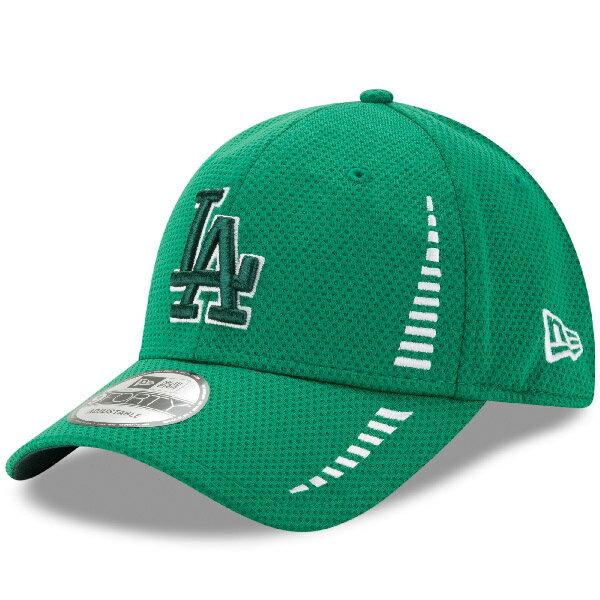 お取り寄せ MLB ドジャース 2017 セントパトリックスデー 9FORTY アジャスタブル キャップ/帽子 ニューエラ/New Era