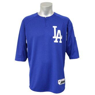MLB洛杉矶道奇前田健太确实的开场BP制服Majestic/Majestic皇家