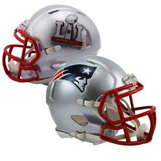 주문 NFL 페이트리옷트 제 51회 슈퍼볼 우승 기념 레볼루션 스피드 미니 헬멧 리델/Riddell
