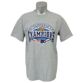 NFL ペイトリオッツ 1996 AFC カンファレンス チャンピオン記念 Tシャツ ヘザー レアアイテム【1910価格変更】