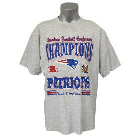 NFL ペイトリオッツ 2003 AFC カンファレンス チャンピオン記念 Tシャツ グレー レアアイテム【1910価格変更】