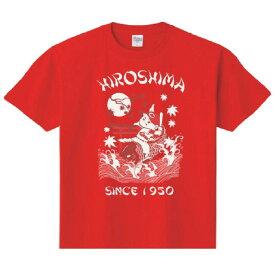 広島カープ グッズ 鯉坊や Tシャツ スペースエイジ/Space Age レッド