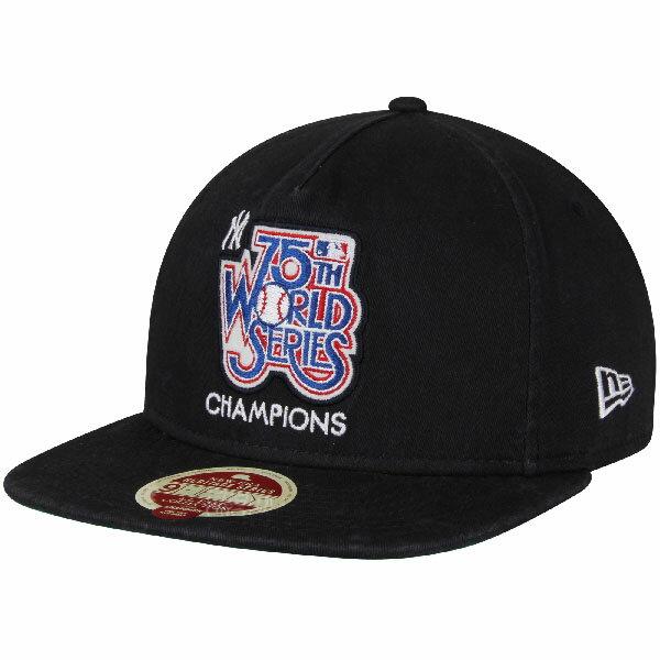 お取り寄せ MLB ヤンキース 1978 ワールドシリーズ チャンピオン Aフレーム キャップ/帽子 ニューエラ/New Era ネイビー