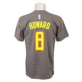 NBA Tシャツ ホークス ドワイト・ハワード ネット ナンバー アディダス/Adidas レッド【1808NBA Tシャツ】【181001セール解除】