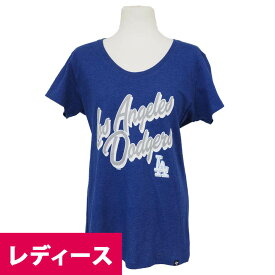 MLB ドジャース クラブス クリプト レディース Tシャツ 47ブランド/47 Brand ロイヤル